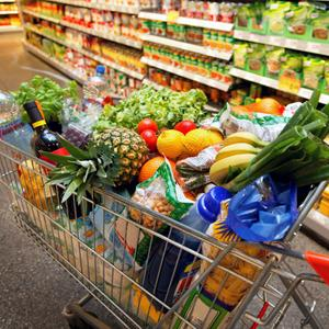Магазины продуктов Парфентьево