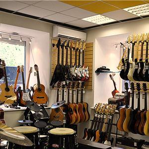 Музыкальные магазины Парфентьево