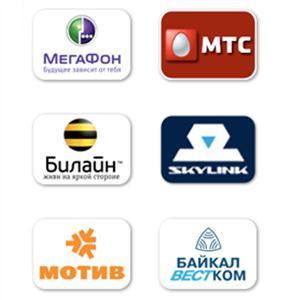 Операторы сотовой связи Парфентьево